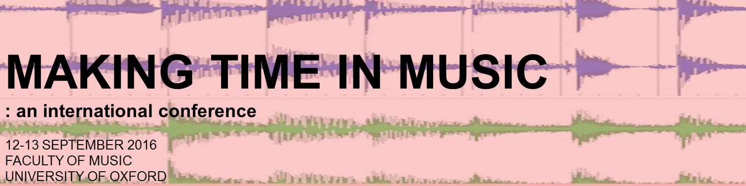 Making Time In Music
