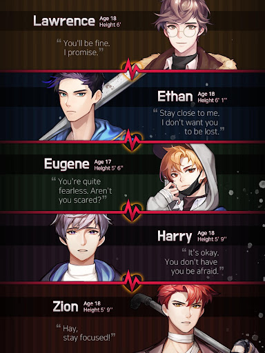 Dangerous Fellows - Romantic Thrillers Otome game - screenshot