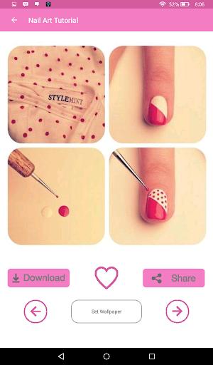 Nail Art Tutorial 1.0 screenshots 4