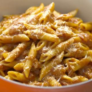 Basic Parmesan Pomodoro.