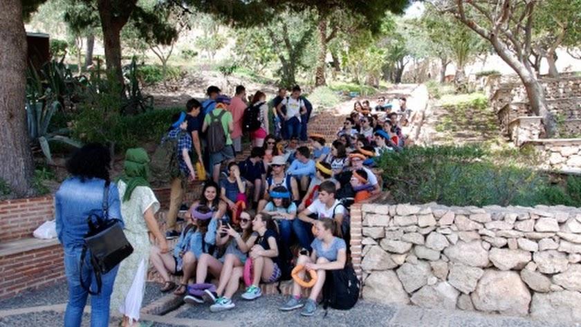 Actividades infantiles en la Alcazaba de Almería.
