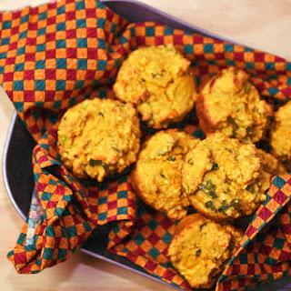 Quinoa Ricotta Herb Muffins.