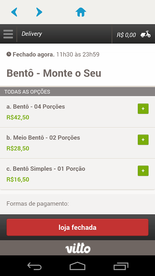 Bentô Japa- screenshot