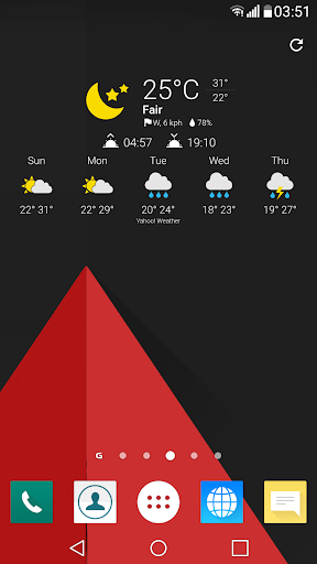Now Weather Icons for Chronus