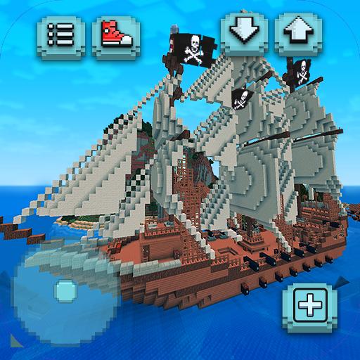 Pirata Craft Tesouro do Caribe