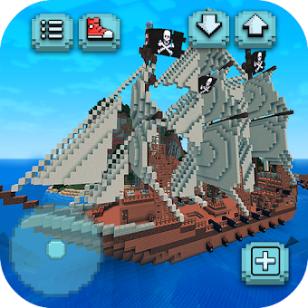 Pirate Crafts Cube Exploration