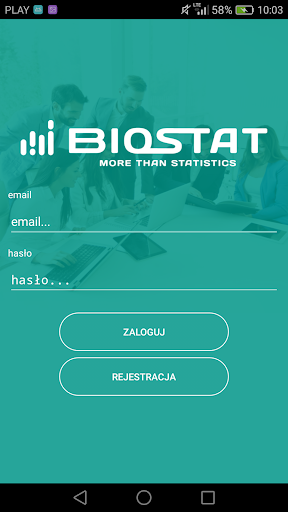 Biostat Survey app (apk) free download for Android/PC/Windows screenshot