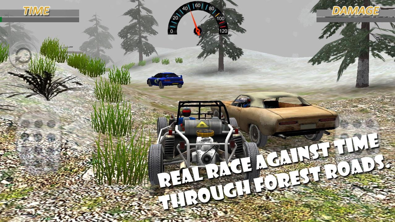 Car Crash Forest racing game - Android Apps on Google Play