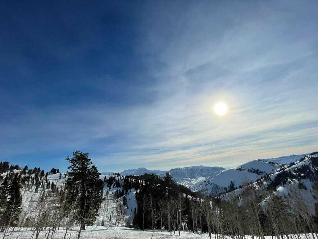 Powder Mountain, fotografiada el 10 de marzo de 2021 por Bárbara