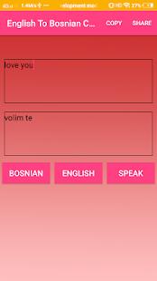 English To Bosnian Converter or Translator - náhled