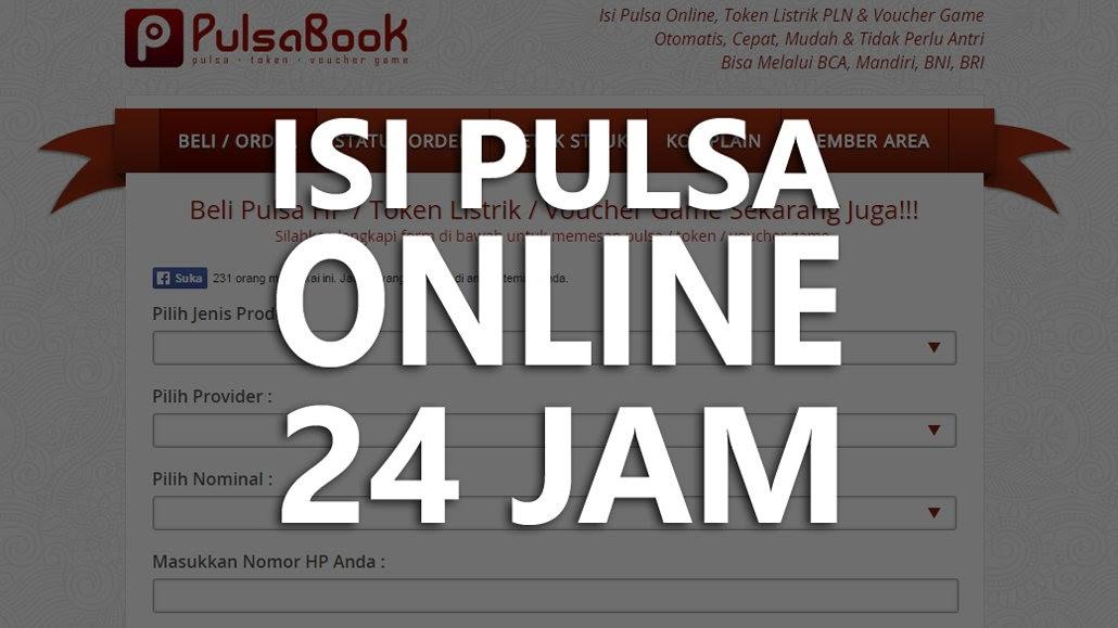 PulsaBook – Aplikasi Beli Pulsa Online Murah 24 Jam
