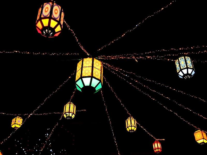 Night lanterns (Any Colour You Like) di Rossella Valitutti