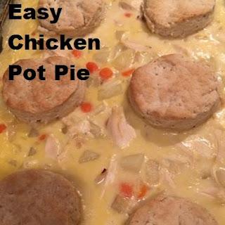 Super Easy Chicken Pot Pie Casserole