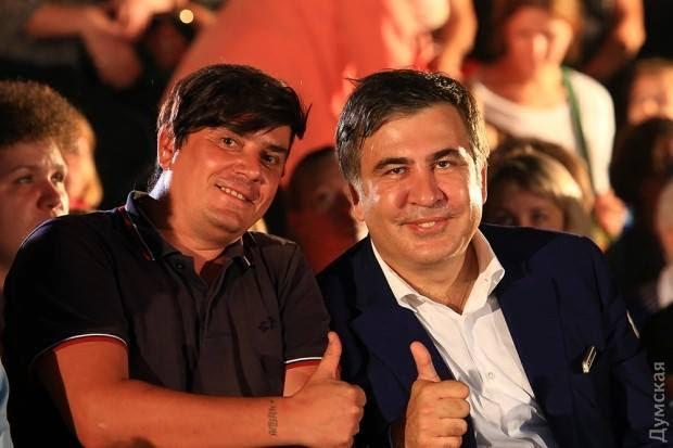 Как я работал с Саакашвили