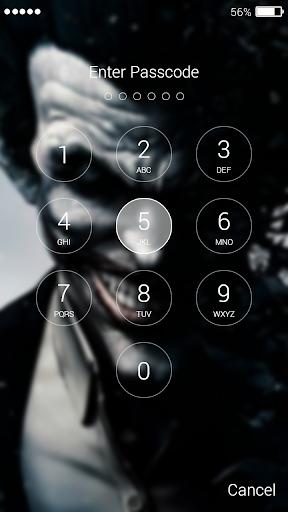 Card Joker Lock Screen screenshots 4
