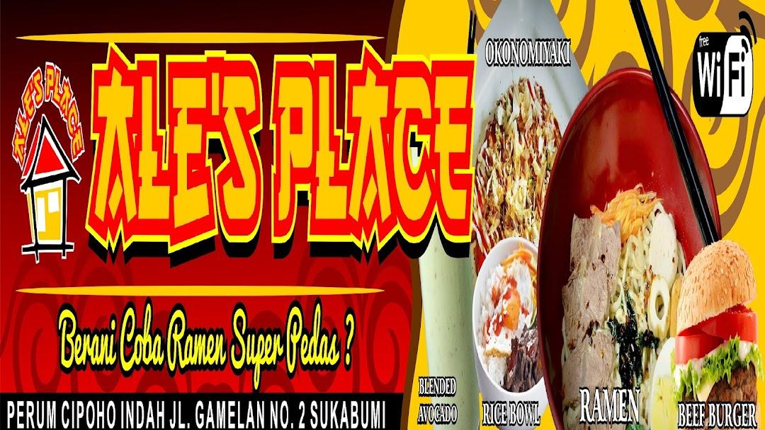 Ale S Place Cipoho Tempat Makan Tematik Komik Ala Jepang