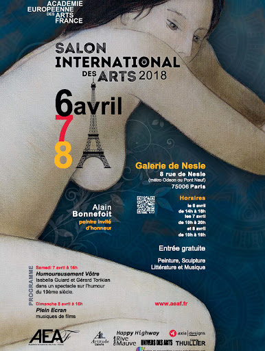 jeanne PAPA _affiche Salon International des Arts 2018