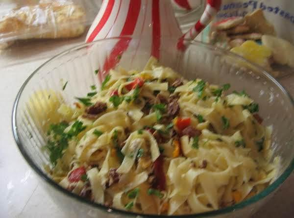 Festive Lemon Pasta