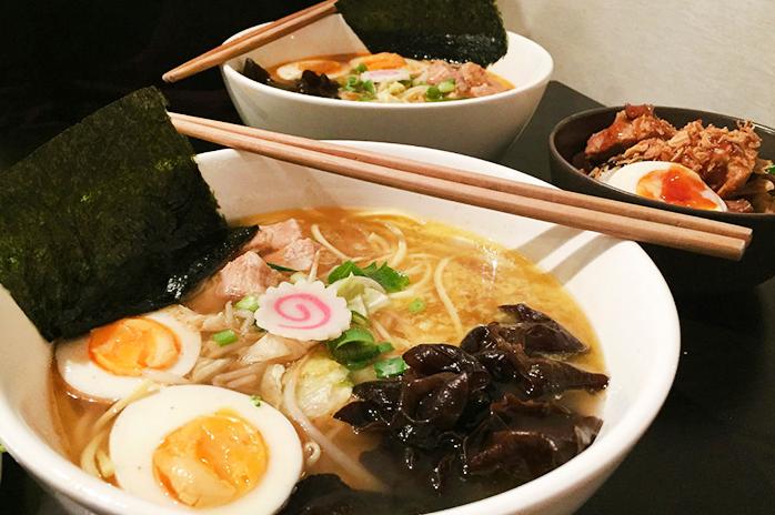 Ramen, plato japonés popular en el mundo de origen chino.