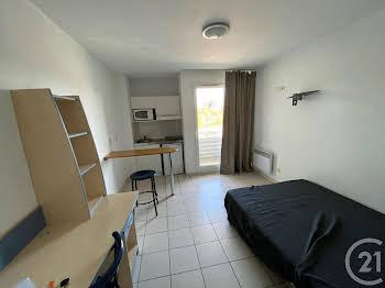 Studio meublé 17,76 m2