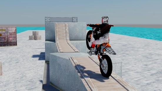 Tricky Stunt Bike Racing Rider - náhled