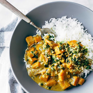 Creamy Thai Sweet Potato Curry