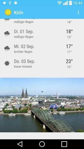 免費下載天氣APP|Köln - Das Wetter app開箱文|APP開箱王