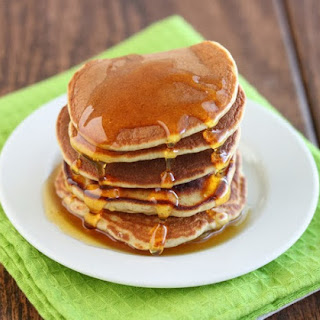 3 Ingredient Banana Pancakes.
