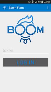 BoomForm - náhled