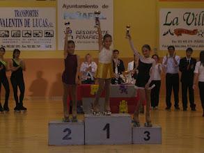 Photo: podium alevin femenino