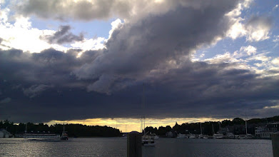 Photo: Serious clouds on the horizon