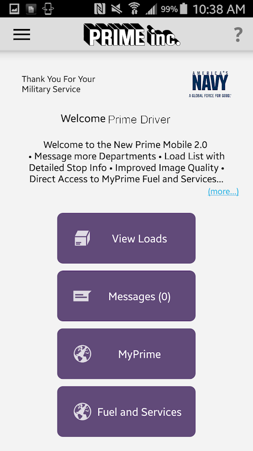 Prime Mobile- screenshot