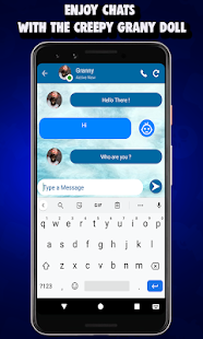 Download Chat And Call Simulator For Creepy Granny's - 2019 APK