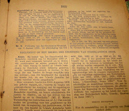 Photo: Regeerings Reglement 1854. http://nurkasim49.blogspot.com/2011/12/iii.html