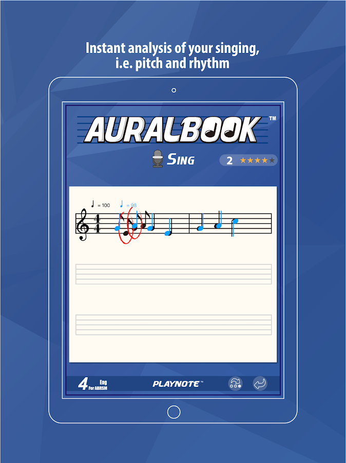 AURALBOOK for ABRSM Grade 4- screenshot