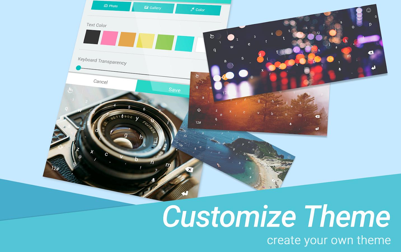 Beautiful themes for gmail - Touchpal Love Heartbeat Theme Screenshot