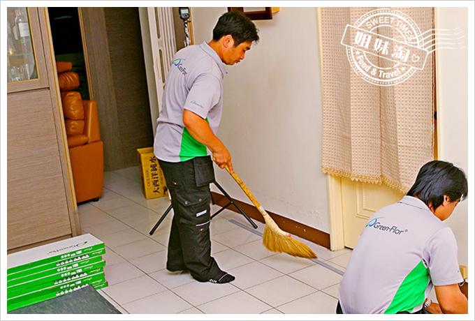 富銘塑膠地板Green-Flor 1/3貼