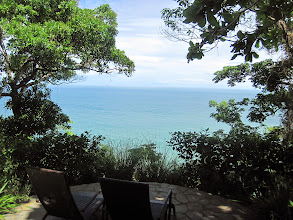 Photo: View of the pacific ocean from Tucan cabina