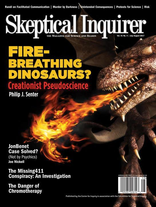 Skeptical Inquirer- screenshot