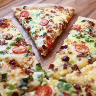 Scrambled Egg Pizza