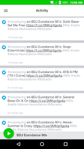 BDJ Eurodance 90s screenshot 1