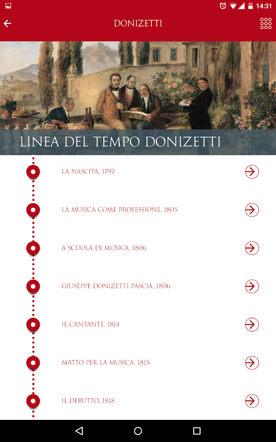Donizetti's- screenshot