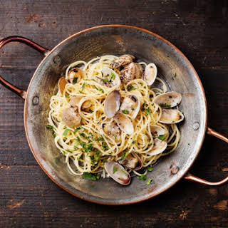 Pasta With Fresh Littleneck Clams.