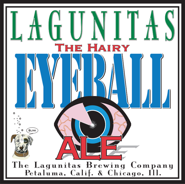 Logo of Lagunitas Hairy Eyeball