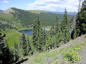 Photo: Pecos Baldy Lake