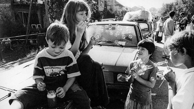 Мусульманские дети-беженцы, 1993 год