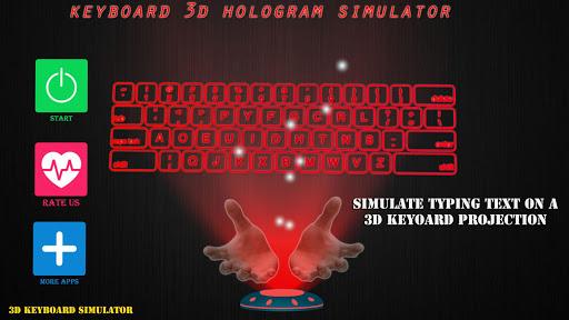 全息键盘模拟器 3 D