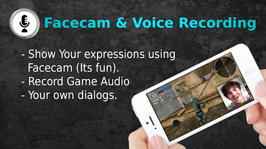 Game Recorder with Facecam App Download For Android 2