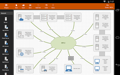 Flowdia diagrams lite apps bei google play flowdia is an easy to use flow diagram tool that can be used to quickly create professional quality flowcharts mind maps bpmn network and server layouts ccuart Gallery