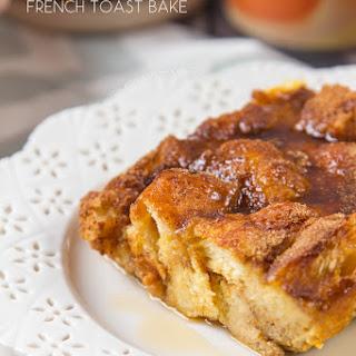 Pumpkin French Toast Bake.